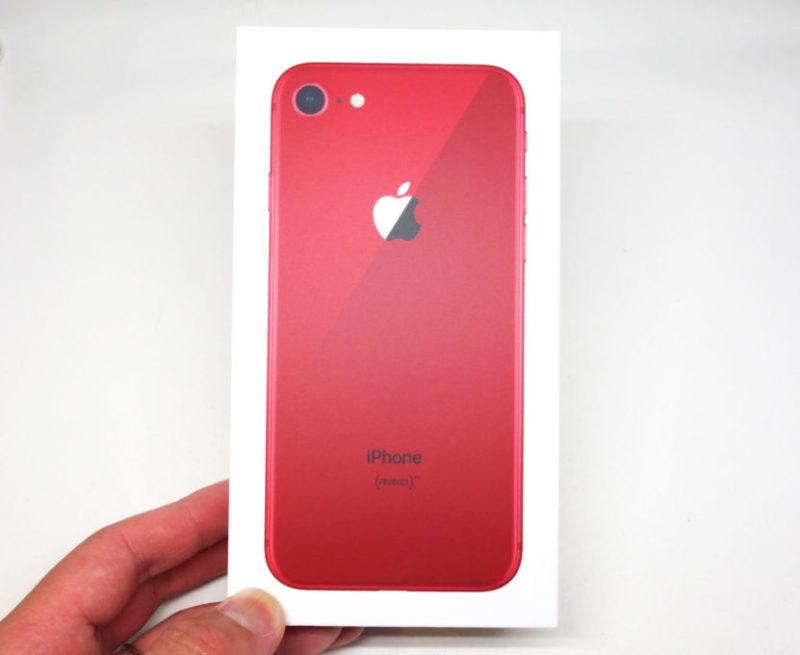 iPhone 8の箱