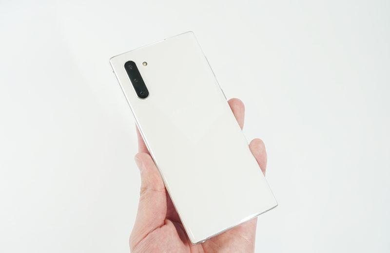 Galaxy Note10はNote9よりも進化している