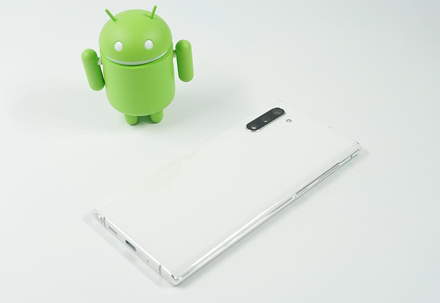 Galaxy Note10とドロイドくん