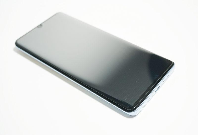 Spigen 【1枚入】 Huawei P30 Pro 6.5インチ用 全面保護フィルムは買い