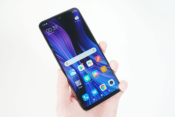 Redmi Note 9Sのスペック